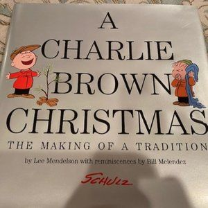 A Charlie Brown Christmas coffee table book